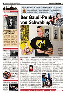 TZ Bericht - Der Gaudipunk von Schwabing